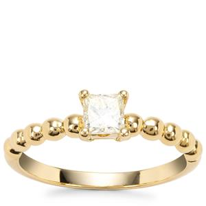 Natural Fancy Diamond Ring in 18K Gold 0.51ct