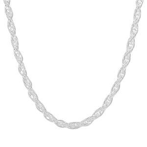 """34"""" Sterling Silver Couture Cordino Chain 7.95g"""