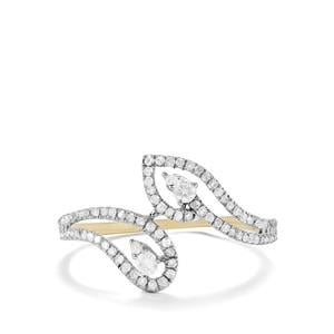 Diamond Ring in 10k Gold 0.38ct