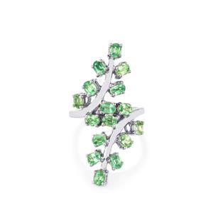 3.72ct Nuagaon Kyanite Sterling Silver Ring