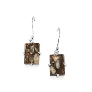 16.20ct Wild Horse Jasper Sterling Silver Aryonna Earrings