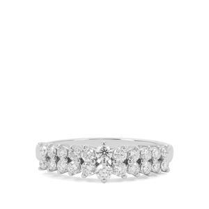 Diamond Ring in Platinum 950 0.75ct
