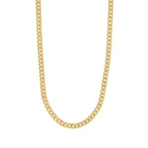 """18"""" Midas Classico Diamond Cut Curb Chain 1.14g"""