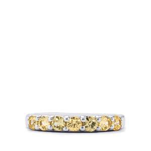 1.17ct Ceylon Zircon Sterling Silver Ring