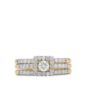 1.06ct Diamond 18K Gold Tomas Rae Ring