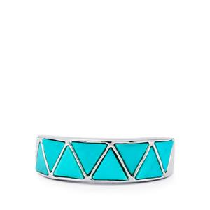 3.13ct Cochise Turquoise Sterling Silver Ring
