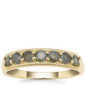 Alexandrite Ring in 9K Gold 0.69ct