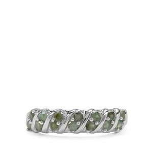 0.59ct Alexandrite Sterling Silver Ring