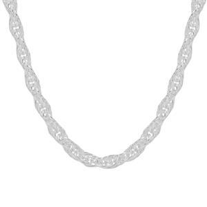 """18"""" Sterling Silver Couture Cordino Chain 11.57g"""