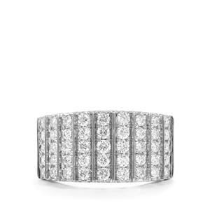 Diamond Ring in Platinum 950 1ct
