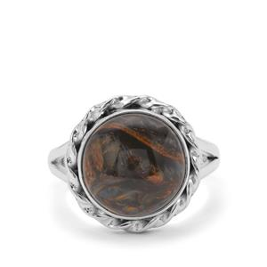 Arizona Pietersite Ring in Sterling Silver 6.50cts