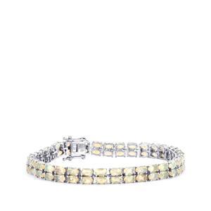 Ethiopian Opal Bracelet in Sterling Silver 9.90cts