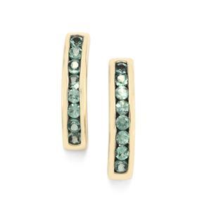 Alexandrite Earrings in 10K Gold 0.32ct
