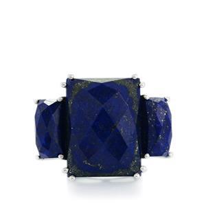24.92ct Sar-i-Sang Lapis Lazuli Sterling Silver Ring