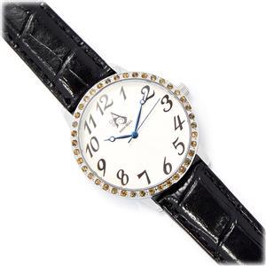 0.52ct Citrine Annabella Stainless Steel Watch