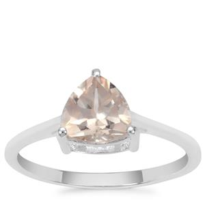 Galileia Topaz Ring in Sterling Silver 1.37cts