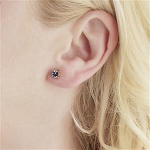 Tanzanite Earrings in Vermeil 0.94ct
