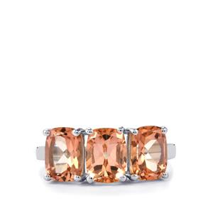 Galileia Topaz Ring in Sterling Silver 5.33cts