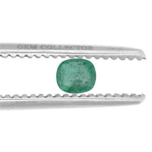 Zambian Emerald GC loose stone  0.85ct