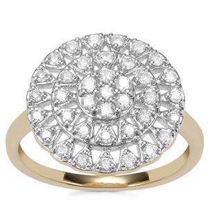 Argyle Diamond Ring in 10k Gold 0.51ct