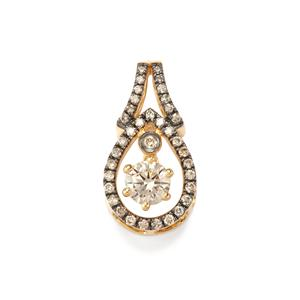 1/3ct Argyle Diamond 18K Gold Pendant