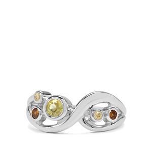 Ambilobe & Morafeno Sphene Sterling Silver Ring  ATGW 0.57cts