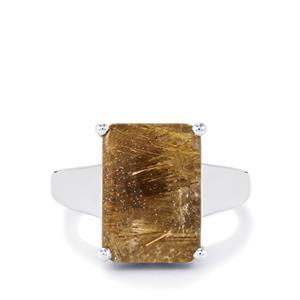 7.43ct Bahia Rutilite Sterling Silver Ring