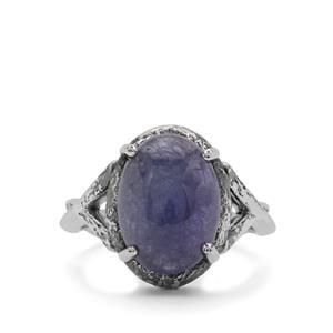 8.25ct Tanzanite Sterling Silver Aryonna Ring