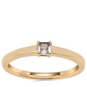 Idar Tourmaline Ring in 10k Gold 0.13cts