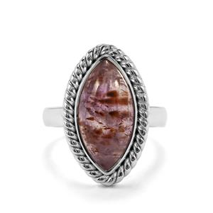 Cacoxenite Ring in Sterling Silver 5.78cts