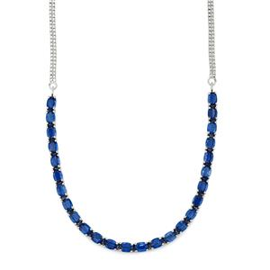Daha Kyanite Necklace in Sterling Silver 26.83cts