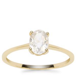 Singida Tanzanian Zircon Ring in 9K Gold 1.33cts