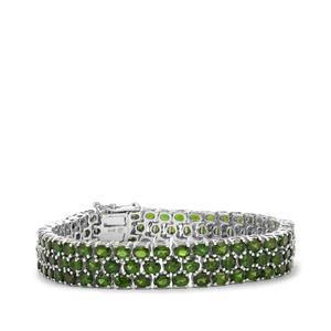 Chrome Diopside Bracelet in Sterling Silver 23.75cts