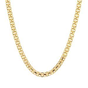 """24"""" Midas Dettaglio Diamond Cut Bismark Chain 3.43g"""