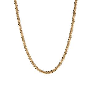 "18"" 9k Gold Couture Crisscross Chain 3.20g"