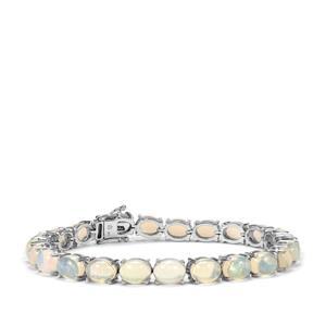 18.05ct Ethiopian Opal Sterling Silver Bracelet