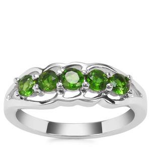 Chrome Diopside Ring in Sterling Silver 0.75ct