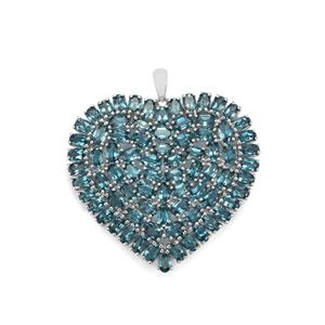 24.78ct Marambaia London Blue Topaz Sterling Silver Pendant