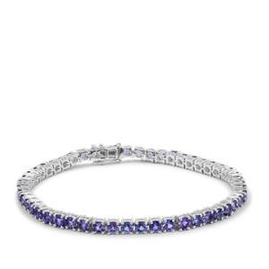 Tanzanite Bracelet in Sterling Silver 8.85cts
