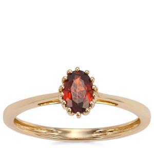 Capricorn Zircon Ring in 9K Gold 0.70ct