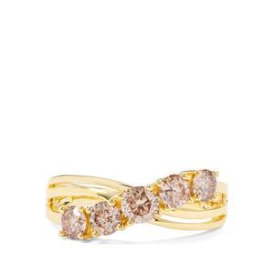 1.05ct Argyle Diamond 18K Gold Ring