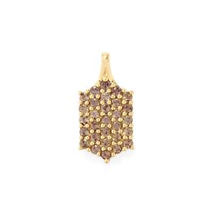 2.32ct Bekily Colour Change Garnet 9K Gold Pendant