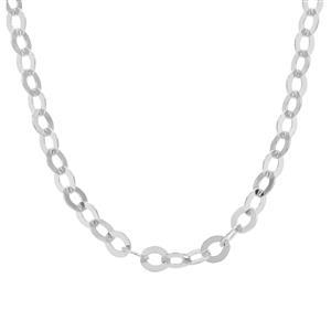 """32"""" Sterling Silver Classico Rolo Lungo Chain 5.47g"""