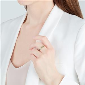 Ambanja Demantoid Garnet Ring in 9K Gold 1.10cts