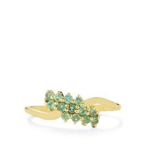 0.39ct Orissa Alexandrite 9K Gold Ring