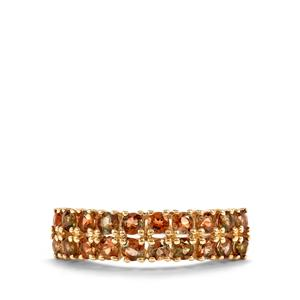 Sopa Andalusite Ring in 10K Gold 1.37cts