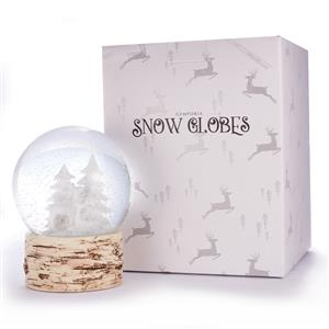 Reindeer Snow Globe with Moonstones ATGW 50cts