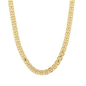 """22"""" Midas Dettaglio Diamond Cut Bismark Chain 3.95g"""