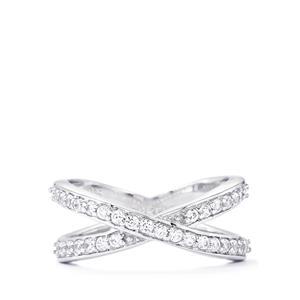 0.80ct Ratanakiri Zircon Sterling Silver Ring