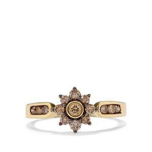1/2ct Argyle Diamond 18K Gold Tomas Rae Ring